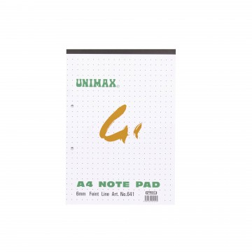 A4 UNIMAX 41 NOTE PA...