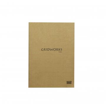 A4 5MM GRID EX BOOK