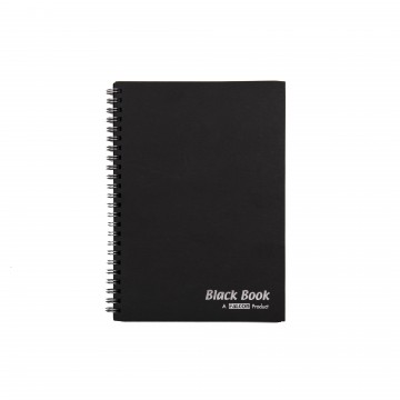 A5 BLACK BOOK