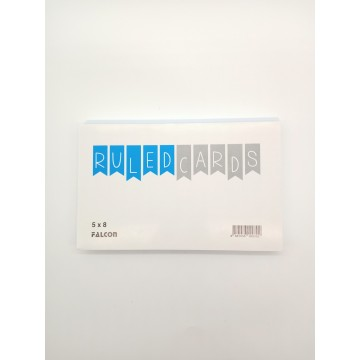 5 X 8 INDEX CARD